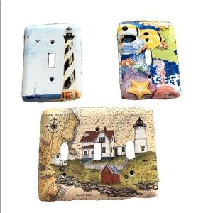 Other - Light Switch Plates Nautical Beach Tropical Design